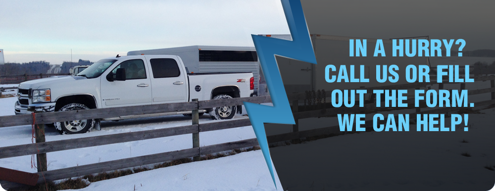 Oilfield Hot Shot Services Serving Calgary, Edmonton, and Fort Mac Area
